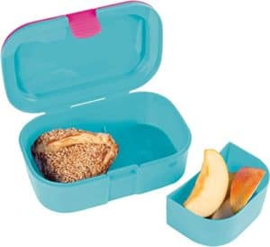 Lutz Mauder Lunchbox mit Apfel und Brot