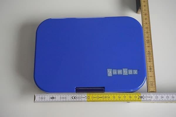 Lunchbox Abmessungen mit Meterstab