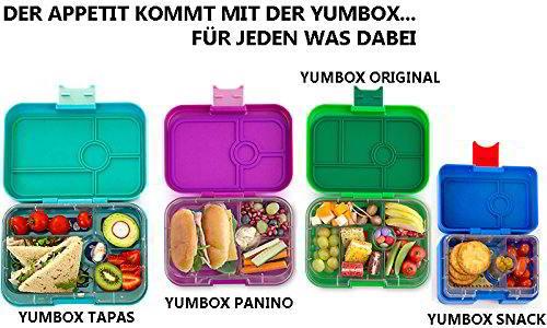 Vier verschiedene YumBox Modelle