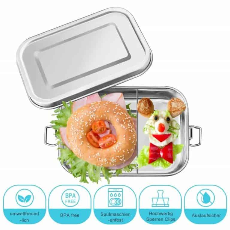 Vorteile der Chaminer Edelstahl Lunchbox