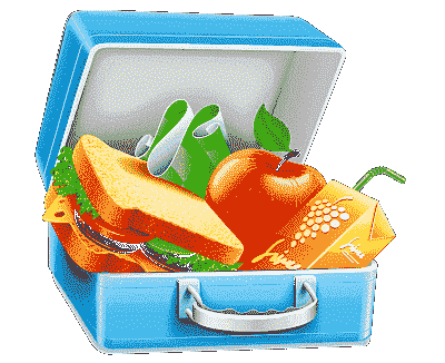 Kinder Brotdose und Lunchbox